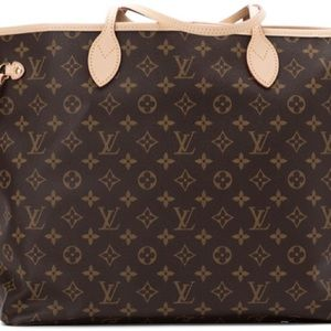 This Neverfull Monogram GM - Excellent condition
